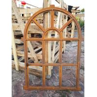 Arched Mirror Cast Iron Windows For Garden Standard Size Antique Metal Windows Manufactures