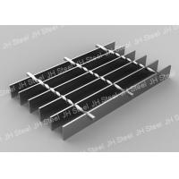 China High Strength Serrated Grating Stair Treads Hot Dipped For Paint Highway on sale