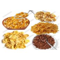 Industrial Maize Flakes Making Machine Food Grade Stainless Materials