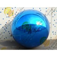 Quality Christmas Decoration Custom Shaped Balloons Eye - Catching Mirror 0.25mm Pearl for sale