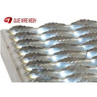 China 3mm Stainless Galvanized Steel Grating High Strength Good Bearing Capacity on sale
