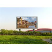 IP65 Full Color Outdoor Advertising LED Display Screen , 5500 Nits Outdoor LED Billboard Manufactures