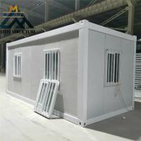 China Heat Insulation Portable Construction Office Sandwich Panel House Fast Assemble on sale