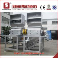 two crusher pet recycling plant 1000kg Manufactures