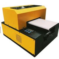 China Screen Printing UV LED Flatbed Printer For Garment Textile And Fabric Easy Operation on sale