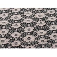 Eco-Friendly Vintage Elastic Lace Fabric For Fashionable Dress CY-DN0003 Manufactures