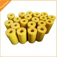 Molded & machined Polyurethane components Lined Pipe PU Rollers Manufactures