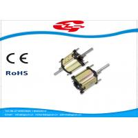 High Voltage Dual Shaft Permanent Magnet DC Motor Used For Massager Manufactures