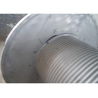Grey Offshore Winch , Wire Rope Drum Carbon Steel / Aluminium Alloy / Stainless Steel Materials Manufactures