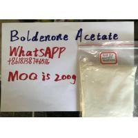 European market Raw Steroid Powders Boldenone Acetate Security clearance Manufactures