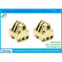 Mechanical CNC Brass Parts Lathe Turning Machine , Precision Brass Turned Parts Manufactures
