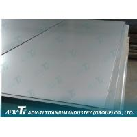 Pure Titanium Foil Sheet For Medical Finishing With ASTM B265 Standard Manufactures