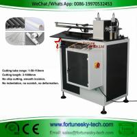 China Automatic computerized circular cutting machine PVC plastic tube free chip cutting tool without burrs extrusion ring cut on sale