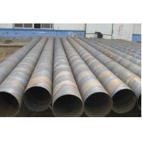 Q195 Q215 MS SSAW Spiral Welded Steel Pipe Schedule 60 / Sch 80 Round Hollow Section Manufactures