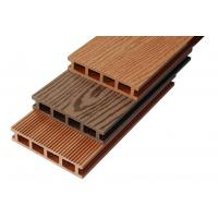 Strong Hollow WPC Composite Deck Boards / Timber Flooring Decking Manufactures