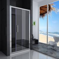 Glazed Sliding Aluminium Glass Door , Louvre Tempered Glass Finished Surface Manufactures