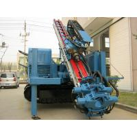 High Speed Jet Grouting Dth Drilling Rigs , Anchor Drilling Rig For Urban Subway Manufactures