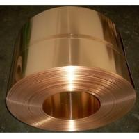 China High Strength Copper Alloy Strip , Copper Nickel Silicon Strips C70250 C7025 on sale