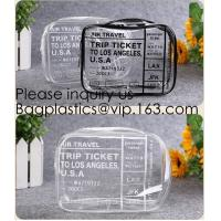 Girls clear PVC hot Cosmetic Bag Travel Cosmetic Makeup Pouch with Zipper and Washable,glitter pvc cosmetic pouch Manufactures