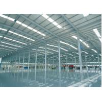China Prefabricated I Beams / H Columns Commercial Steel Workshop Coated Corrosion Resistant Paint on sale