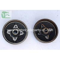 Cast Iron electric tricycle drum brake replacement 150CC - 200CC Manufactures