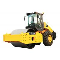 26000kg Asphalt Vibratory Road Roller Machine With Single Drum Hydraulic System Manufactures