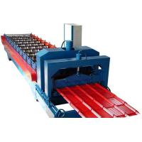 Automatic 860 IBR Trapezoidal Roof Sheet Making Machine 9-16 Rows Hydraulic Cutting System Manufactures