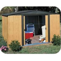 6X6ft metal shed with galvanized steel sheet Manufactures