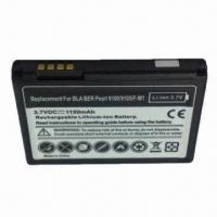Mobile Phone Battery for BlackBerry 9100/9105, Fully Decoded 1150mAh Battery Replaces F-M1 Manufactures