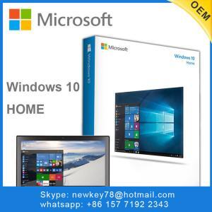 Office Windows 10 Home OEM / Windows 10 Pro Oem Upgrade Multiple Language Manufactures