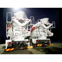China 10 Cubic Meter Concrete Mixer Truck , Fast Feed Rate Ready Mix Truck Durable on sale