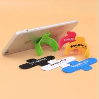 China Cheap Touch U-Shape Cell Phone Stand Holder / 3M Sticker Silicone Mobile Phone Stand,Accept Logo Print on sale