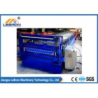 China 22 Stations Corrugated Sheet Roll Forming Machine , Full Automatic Corrugated Roofing Machine on sale