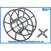 Transmission Line Stringing Tools Accessories Steel Wire Rope Reel Diameter 1100mm Manufactures