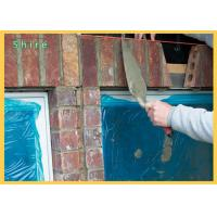 Plastic Packaging PE Protective Cling Low Tack Blue Window Glass Protection Film Manufactures