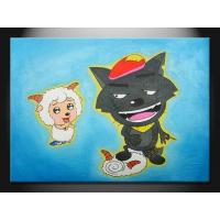 Lovely Cartoon Decorative Paint Handmade Oil Painting for Apartment ETH107 Manufactures