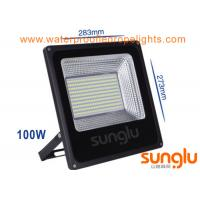 Waterproof 100W Outdoor LED Flood Lights Aluminium Body For Gas Station Manufactures