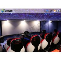 3D Glasses 5D Movie Ticket 5D Movie Theater With 5D Motion Ride / Control System Manufactures