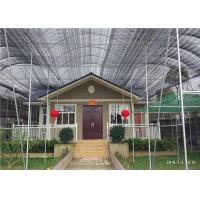 Environmental Friendly Prefab Steel House For Emergency Projects Easy To Built Manufactures