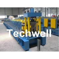 Sigma Profile S18 Sigma Post Guardrail Forming Machine With 36# H Steel Machine Base Manufactures