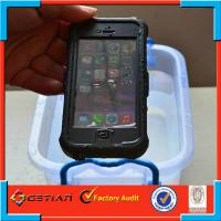Fashionable TPU iPhone 5s Waterproof Case Shockproof Protection Shell Manufactures