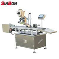 Automatic page separating labeling machine for pouch labeling machine for pouch