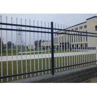China Security Metal Fence Panels , Hot Dip Galvanized Coating Fence 50 x 50mm Post on sale