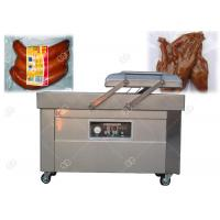 Commercial Double Chamber Vacuum Packing Machine 304 Stainless Steel For Sausage Grain Manufactures