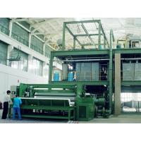 Quality High Performance PP Spun Bond Non woven Fabric Production Line Double Beam for sale