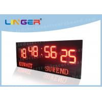 Large Size Digits LED Football Scoreboard , Soccer Stadium Scoreboard Windows Software Manufactures