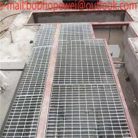 China hot dipped galvanized steel grating egypt with good quality/Metal building materials hot dipped galvanized steel grating on sale
