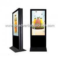 China 55inch double side LCD screen standing LCD advertising display Dual side screen media player LCD digital signage monitor on sale