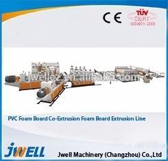 China PVC crust foam board manufacturing machine/plastic extruder on sale