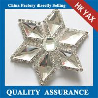 China supplier rhinestone patch, wholesale rhinestone patch for clothes/bags/shoes,new design rhinestone patches Manufactures